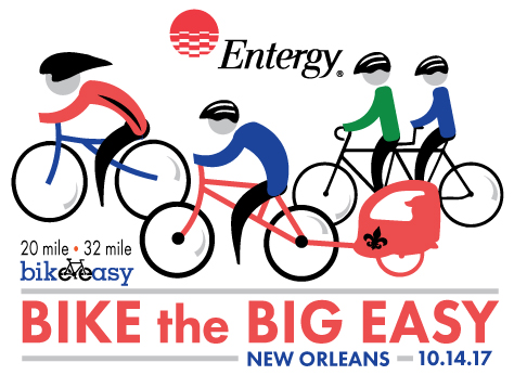 Press Release | 3rd Annual Entergy Bike The Big Easy Set To Roll Through New Orleans